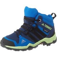 adidas Terrex AX2R Mid CP indigo Gr. 37 1/3 Jungen Kinder Wanderschuhe blau