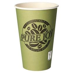 50 PAPSTAR Einweg-Kaffeebecher PURE JOY 0,3 l