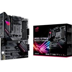 Asus ROG STRIX B550-F GAMING Mainboard Sockel AMD AM4 Formfaktor ATX Mainboard-Chipsatz AMD® B550