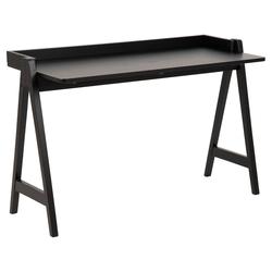 ebuy24 Schreibtisch Miso Schreibtisch schwarz.