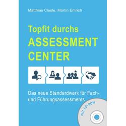 Topfit durchs Assessment-Center: eBook von Matthias Clesle/ Martin Emrich