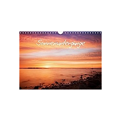 Sonnenuntergänge (Wandkalender 2021 DIN A4 quer)