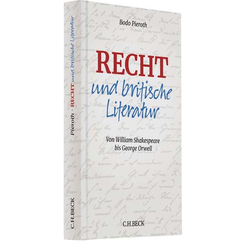 Recht und britische Literatur als Buch von Bodo Pieroth