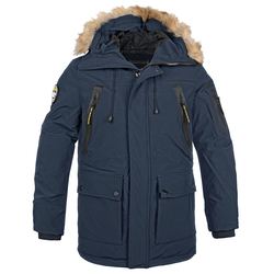 Poolman Winter Parka Creston navy, Größe L