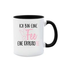 Shirtracer Tasse Ich bin eine Fee - Tasse mit Spruch - Tasse zweifarbig - Tassen, tasse mit spruch