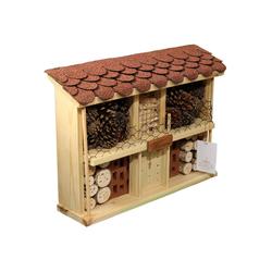 LUXUS-INSEKTENHOTEL Insektenhotel Landhaus Komfort - Bausatz, BxTxH: 47x12,5x34 cm