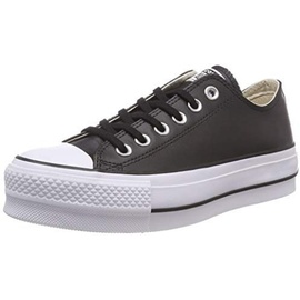 Converse Chuck Taylor All Star Lift Clean Leather Low Top black/black/white 41