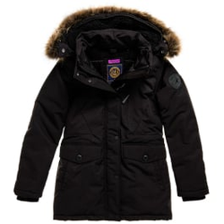 Superdry - Everest Parka W Black - Jacken - Größe: M