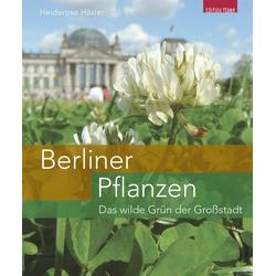 Berliner Pflanzen als Buch von Heiderose Häsler/ Iduna Wünschmann