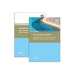 Private Schwimmbäder  Schwimmbadanlagen und -geräte  2 Bde.. Frank Eisele  - Buch