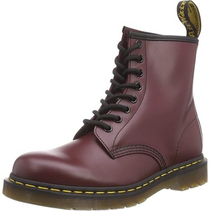 Dr. Martens 1460 Smooth, Unisex-Erwachsene Combat Boots, Rot (1460 Smooth 59 Last CHERRY RED), 36 EU