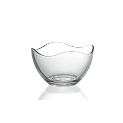 Ritzenhoff & Breker / Flirt Schale Wave in klar, 13 cm