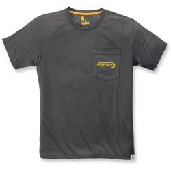 Carhartt Force Hengelsport grafische T-Shirt, zwart, XS