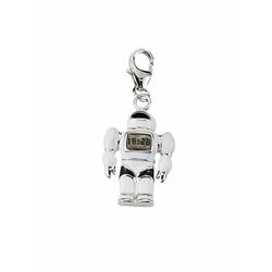 Adelia´s Charm-Einhänger 925 Silber Charms Anhänger Roboter