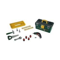Klein Spielwerkzeugkoffer klein Werkzeugbox mit Ixolino II und Zubehör