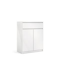 ebuy24 Sideboard Nada Sideboard 2 Türen und 1 Schublade, weiss hoch