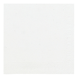 Servietten uni White