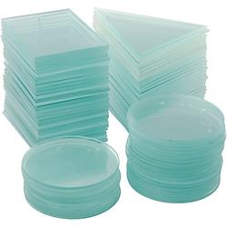 Glasplatten, Stärke: 3 mm, 90 Stück
