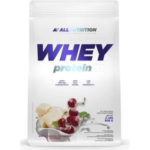 ALLNUTRITION Whey Protein 908g 1er pack Eiweißpulver Molkenproteinpulver Muskelaufbau mit Verzweigte Aminosäuren BCAA (White Chocolate Cherry)