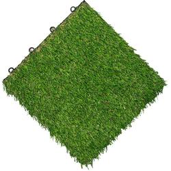 florco® Terrassenplatten, 30x30 cm, 11-St., 11 Stk., Klickfliesen