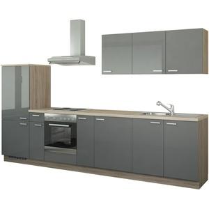 Küchenzeile mit Elektrogeräten » Möbel Kraft