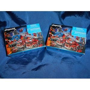 Playmobil 86758 city life 2 x Mini Puzzle Feuerwehr 54teilig neu
