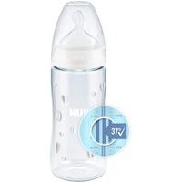 NUK First Choice+ Babyflasche mit Temperature Control Weiß