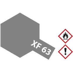 Tamiya Airbrush-Acrylfarbe German-Grau (matt) XF-63 Glasbehälter 23ml