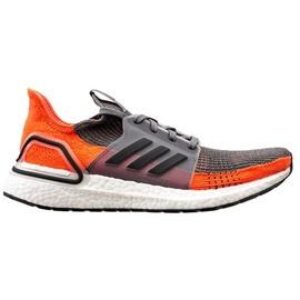 adidas Ultraboost 19 M grey four/core black/hi-res coral 42 2/3