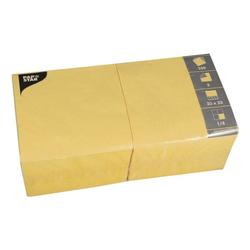 250er-Pack Servietten gelb, Papstar, 33x33 cm