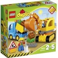 Lego Duplo Bagger & Lastwagen 10812