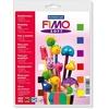 Staedtler Filly FIMO soft Grundkasten 9 Blöcke á 25g 802310