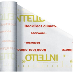 Rockwool Dampfbremse RockTect Intello Climate Plus 50 x 1,5 m, 0,4 mm