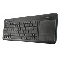 Trust Veza Wireless Touchpad Tastatur DE (20961)