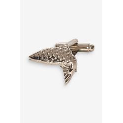 Next Manschettenknöpfe Manschettenknöpfe mit Fischmotiv