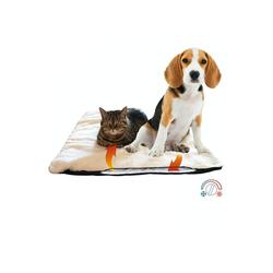 riijk Katzen-Hängematte Heizdecke, Hundedecke & Katzendecke für kalte Böden Optimal für ältere Tiere Waschbare Hunde Thermodecke Reflektiert Körperwärme Knisterfreie Wärmematte Selbstheizende Decke 120 x 70 cm - 120 cm x 70 cm