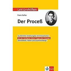 Lektürehilfen Franz Kafka 'Der Proceß' - Buch