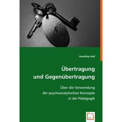 Übertragung und Gegenübertragung als Buch von Hendrikje Haß