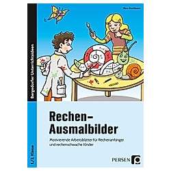 Rechen-Ausmalbilder. Klara Kirschbaum  - Buch