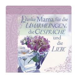 """H&H Romantisches Geschirrtuch """"Danke Mama..."""" Handtuch"""
