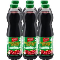 Fruchtstern Sauerkirsch-Nektar 1 Liter, 6er Pack