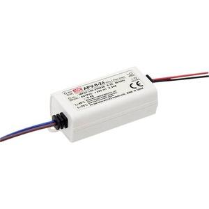 Mean Well APV-8-12 LED-Trafo Konstantspannung 8W 0 - 0.67A 12 V/DC nicht dimmbar, Überlastschutz