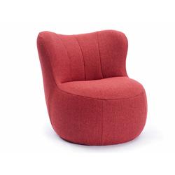 Sessel freistil 173 freistil rot, Designer Müller & Wulff, 75x76x82 cm