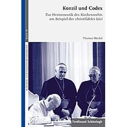 Konzil und Codex. Thomas Meckel  - Buch