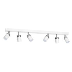 Licht-Erlebnisse Deckenstrahler JOKER Deckenstrahler Weiß Silber Grau modern Spot Wohnzimmer Lampe