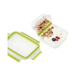 "Emsa Lunchbox Lunchbox ""Clip & Go"" 0,6 L, mit ""Knick-Ecke"