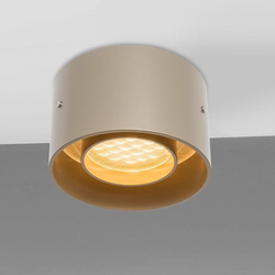 Oligo einfache LED Deckenlampe Trofeo Champagner