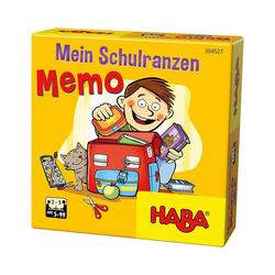 Haba Spiel, HABA 304527 Mein Schulranzen-Memo