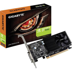 Gigabyte Grafikkarte Nvidia GeForce GT1030 Overclocked 2GB GDDR5-RAM PCIe x16 HDMI®, DVI