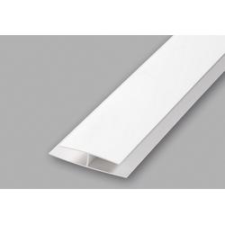 Baukulit Verbindungsprofil, 2er-Set weiß